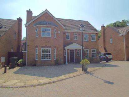 5 Bedrooms Detached House for sale in Admiral Close, Stoke Park, Bristol