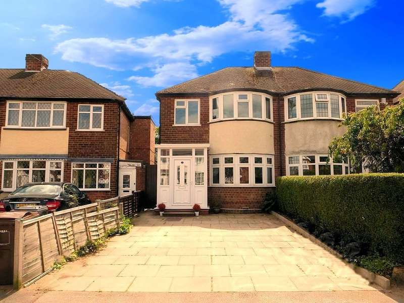 3 Bedrooms Semi Detached House for sale in Jillcot Road, Solihull