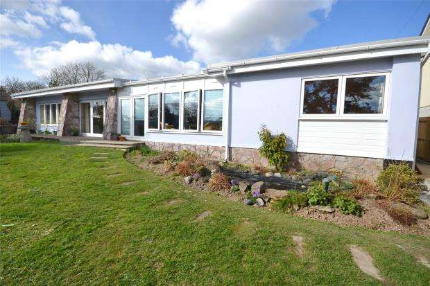 4 Bedrooms Detached Bungalow for sale in Briars Ryn, Pillaton, Saltash, Cornwall