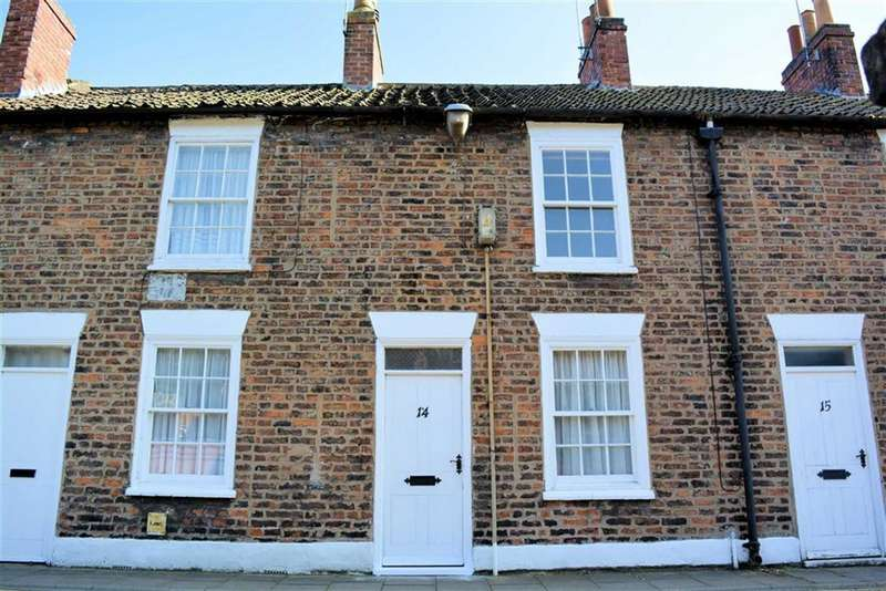 2 Bedrooms Cottage House for sale in Park Row, Selby, YO8