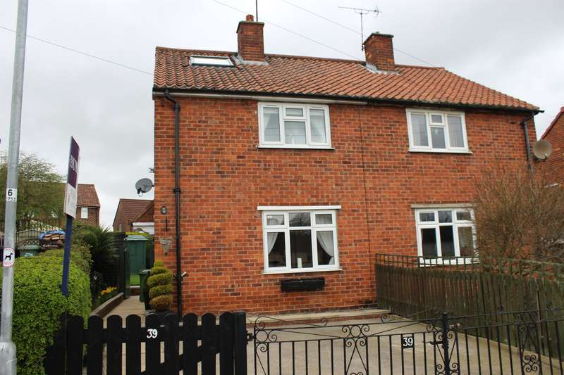 2 Bedrooms Semi Detached House for sale in Croft Drive, Bramham, Wetherby, LS23 6RJ