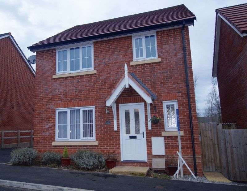 3 Bedrooms Detached House for sale in Walkham Court, Gwersyllt, Wrexham