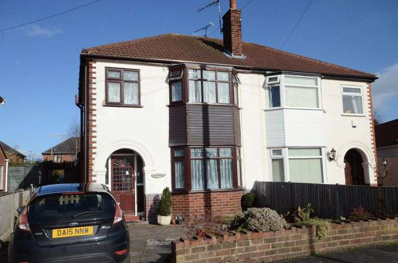 3 Bedrooms Semi Detached House for sale in Butterbache Road, Huntington, Chester