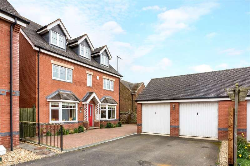 5 Bedrooms Detached House for sale in Griffin Close, Twyford, Banbury, Oxfordshire, OX17