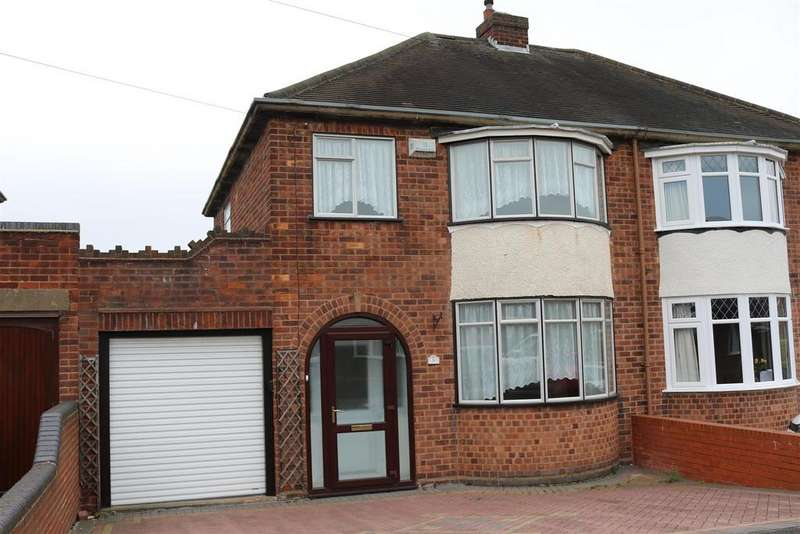 2 Bedrooms Semi Detached House for sale in Draycott Crescent, Tamworth