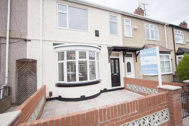 3 Bedrooms Terraced House for sale in ASHGROVE AVENUE, HARTLEPOOL TS25