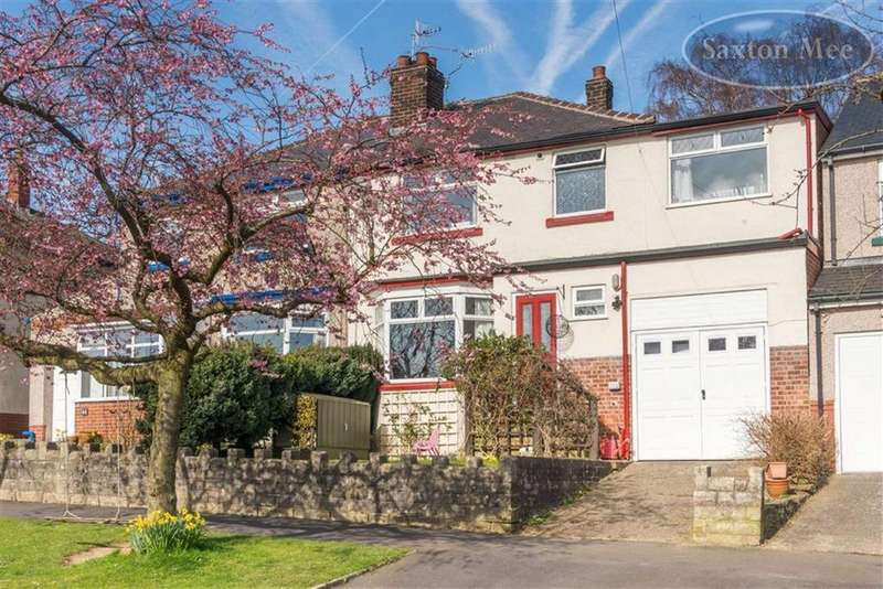 4 Bedrooms Semi Detached House for sale in Dransfield Road, Crosspool, Sheffield, S10