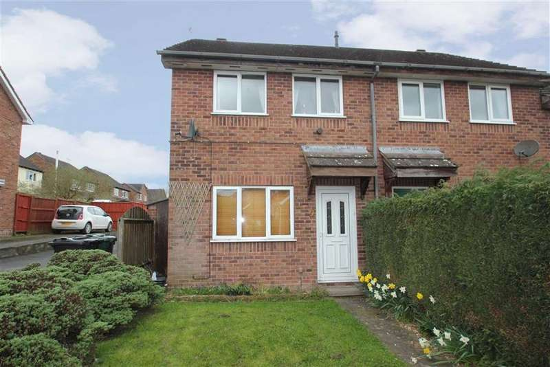 2 Bedrooms Semi Detached House for sale in Maple Close, Ludlow
