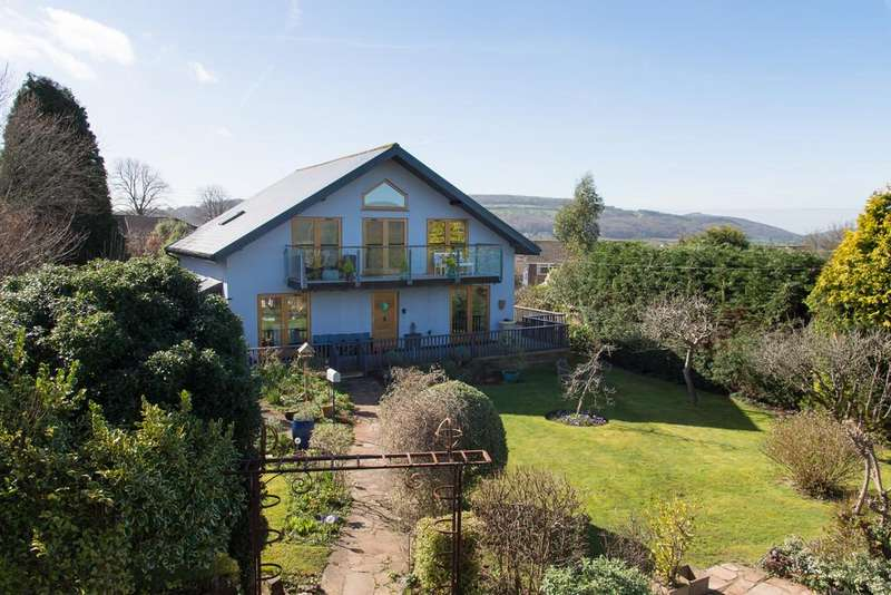 4 Bedrooms Detached House for sale in Hillyfields, Winscombe