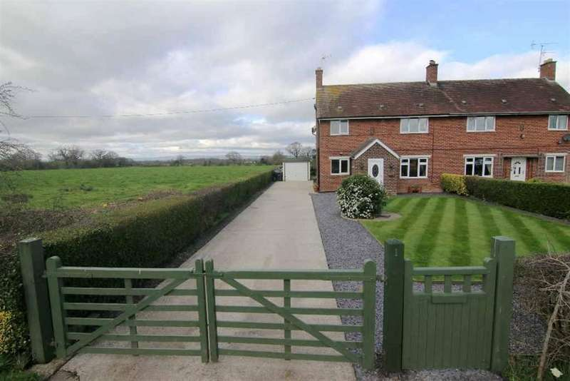 3 Bedrooms Semi Detached House for sale in Beachin Lane, Coddington