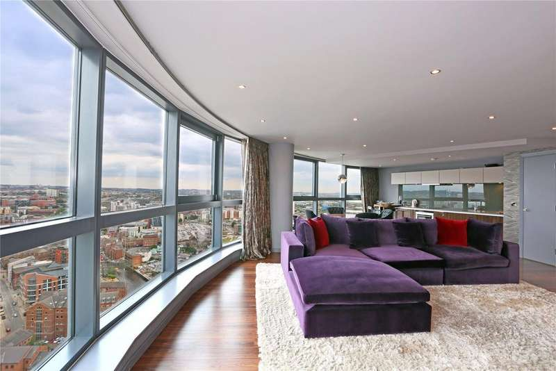 3 Bedrooms Flat for sale in Bridgewater Place, Water Lane, Leeds, West Yorkshire, LS11