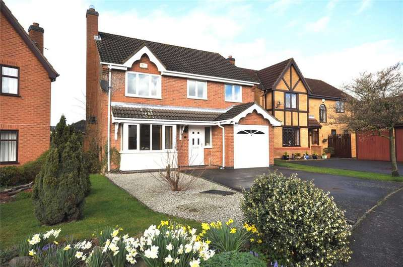 4 Bedrooms Detached House for sale in Ross Close, Melton Mowbray, Leicestershire