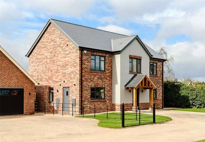 4 Bedrooms Detached House for sale in 6 Hawthorn Close, Harmer Hill, Shrewsbury, Shropshire