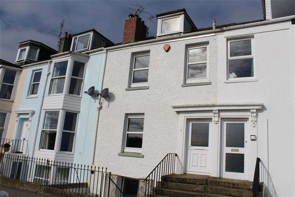 3 Bedrooms Terraced House for sale in Erisey Terrace, Falmouth