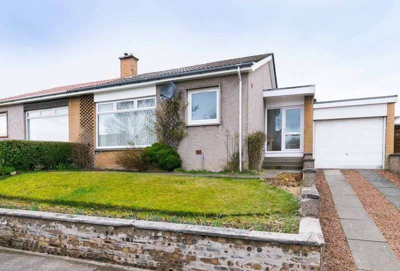 2 Bedrooms Semi Detached Bungalow for sale in 14 Mauricewood Avenue, Penicuik, Midlothian, EH26 0BH