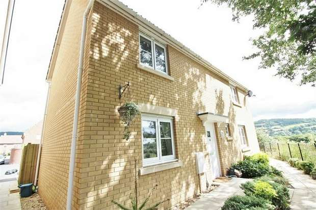 3 Bedrooms Semi Detached House for sale in Company Farm Drive, Llanfoist, ABERGAVENNY, Monmouthshire