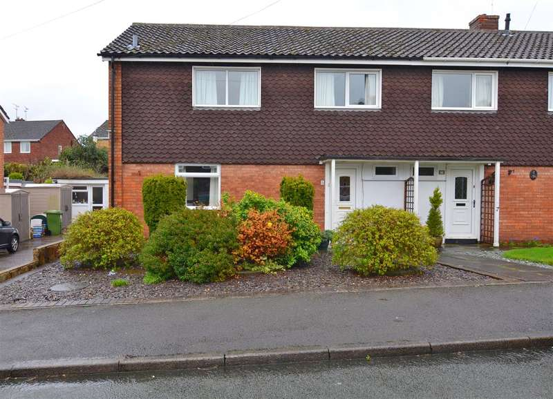3 Bedrooms Semi Detached House for sale in Mayfield Road, Stafford
