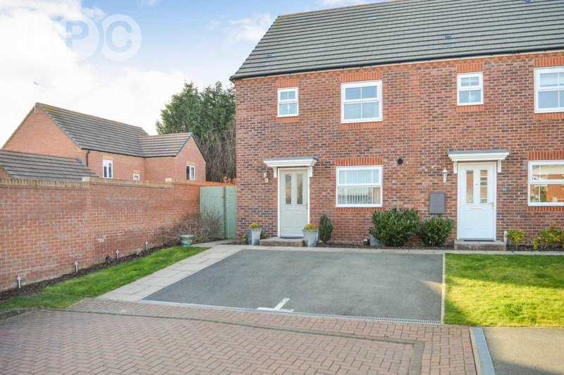 3 Bedrooms End Of Terrace House for sale in Fenton Road, Swallows Reach, Allesley, Coventry, CV5