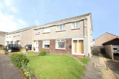 3 Bedrooms Semi Detached House for sale in Glenelg Crescent, Kirkintilloch, Glasgow, East Dunbartonshire