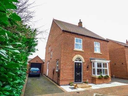 4 Bedrooms Detached House for sale in Tilly Mews, Measham, Swadlincote