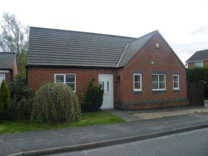 3 Bedrooms Bungalow for sale in Sherwood Close, Ellistown, Coalville