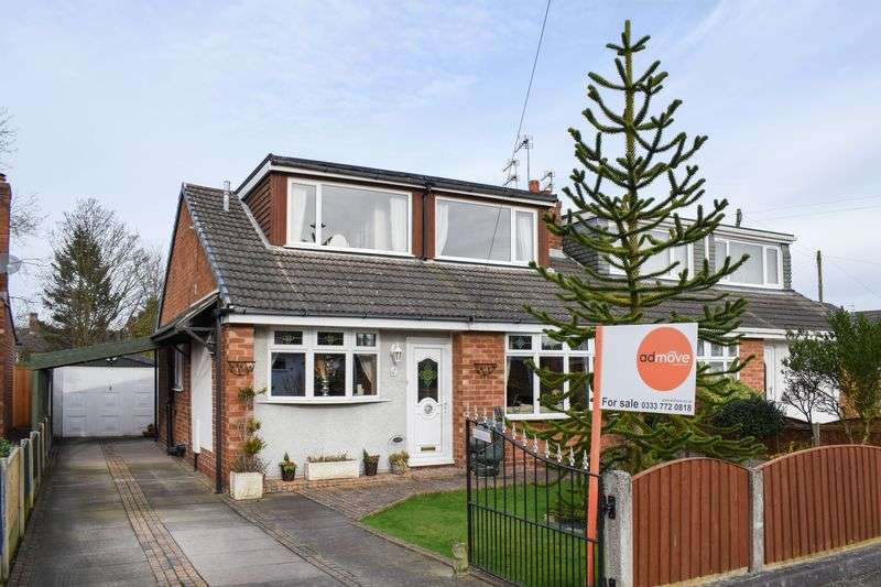 4 Bedrooms Semi Detached House for sale in Ashfield Close, Lymm