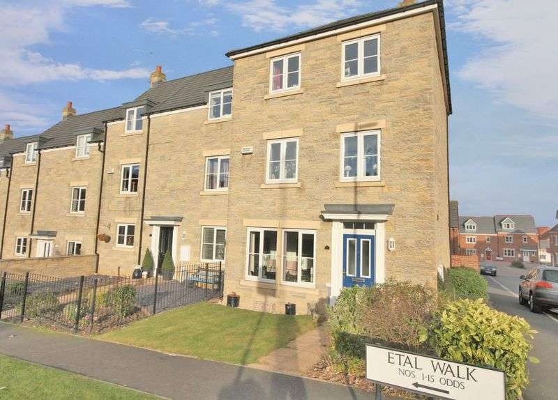 4 Bedrooms Terraced House for sale in Etal Walk, Skelton