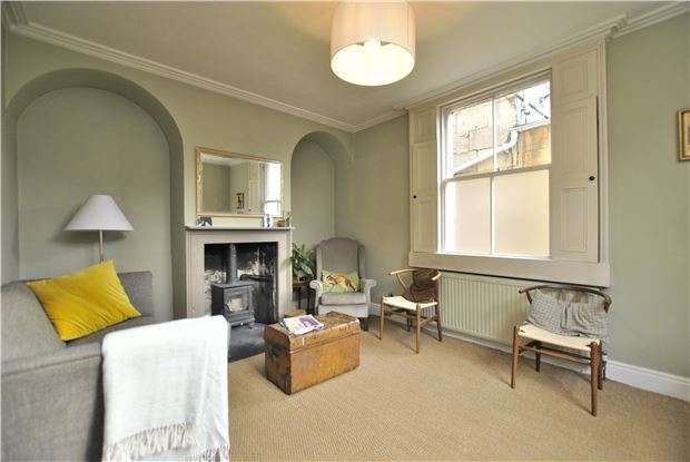 2 Bedrooms End Of Terrace House for sale in Victoria Buildings, BATH, Somerset, BA2