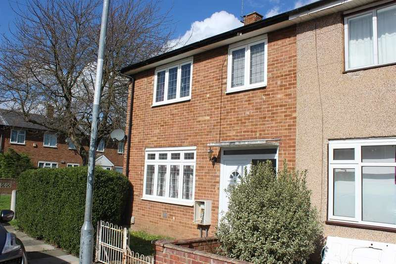 3 Bedrooms End Of Terrace House for sale in Boxgrove Road, Abbey Wood, London, SE2 9JY