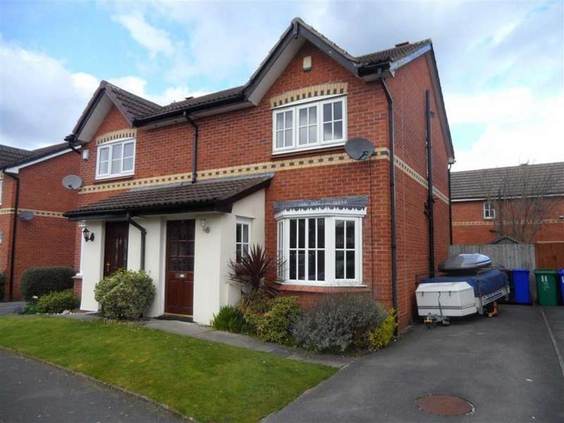 3 Bedrooms Semi Detached House for sale in Hilton Road, Sharston