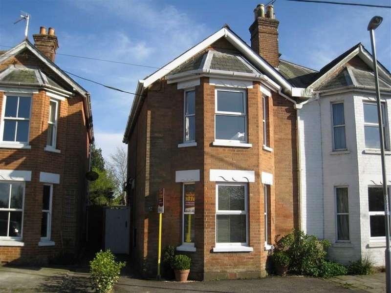 3 Bedrooms Semi Detached House for sale in Wimborne Road, Wimborne, Dorset