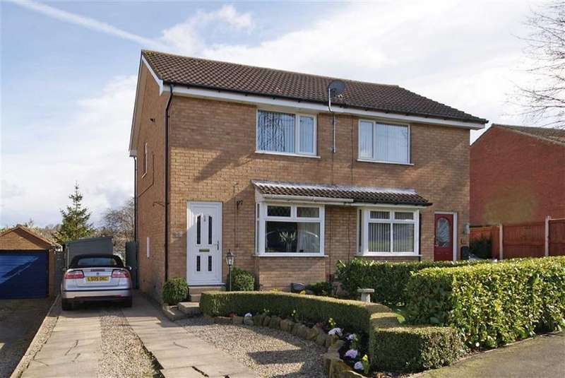 2 Bedrooms Semi Detached House for sale in Markenfield Road, Harrogate, North Yorkshire