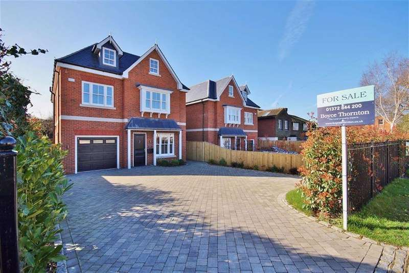 5 Bedrooms Detached House for sale in Steels Lane, Oxshott, Surrey, KT22