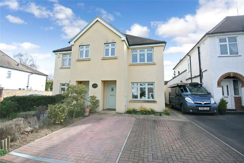 3 Bedrooms Semi Detached House for sale in Bell View Close, Cheltenham, GL52
