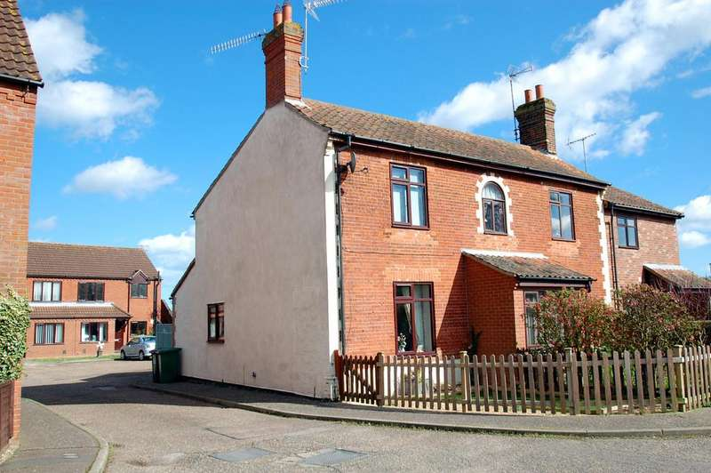 2 Bedrooms End Of Terrace House for sale in Pellew Place, North Walsham