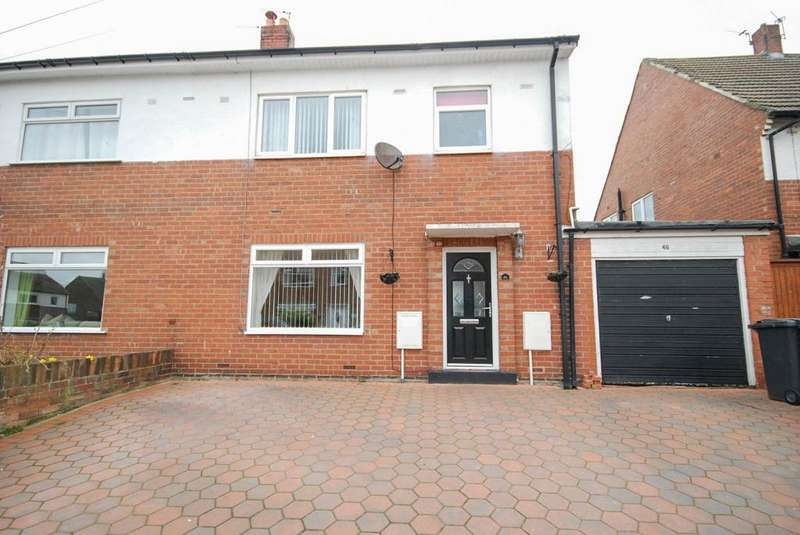 3 Bedrooms Semi Detached House for sale in Hillside, Whitburn