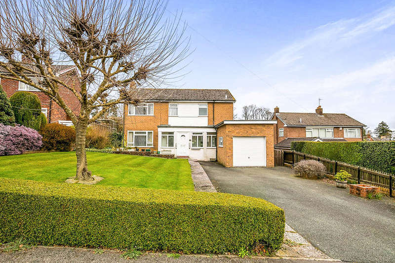 4 Bedrooms Detached House for sale in Hampton Road, Oswestry, SY11