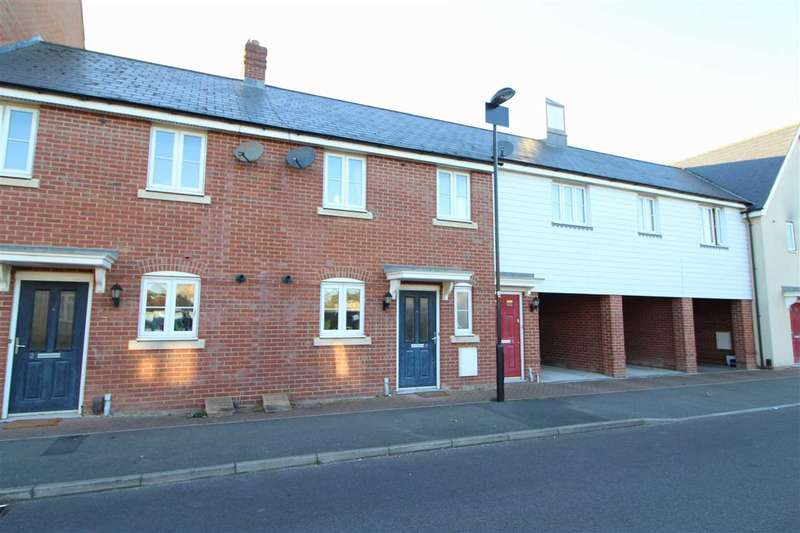 2 Bedrooms Terraced House for sale in Eight Acre Lane, Colchester