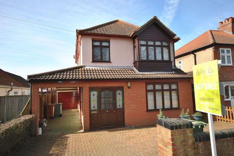3 Bedrooms Detached House for sale in Thunder Lane, Norwich
