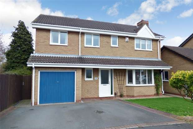 5 Bedrooms Detached House for sale in Gloucester Close, St Nicolas Park, Nuneaton, Warwickshire