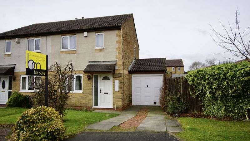 3 Bedrooms Semi Detached House for sale in GARSTIN CLOSE Haydon Grange