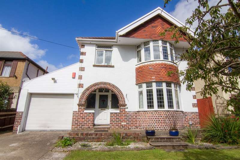 3 Bedrooms Detached House for sale in Newport Road, Old St. Mellons, Cardiff