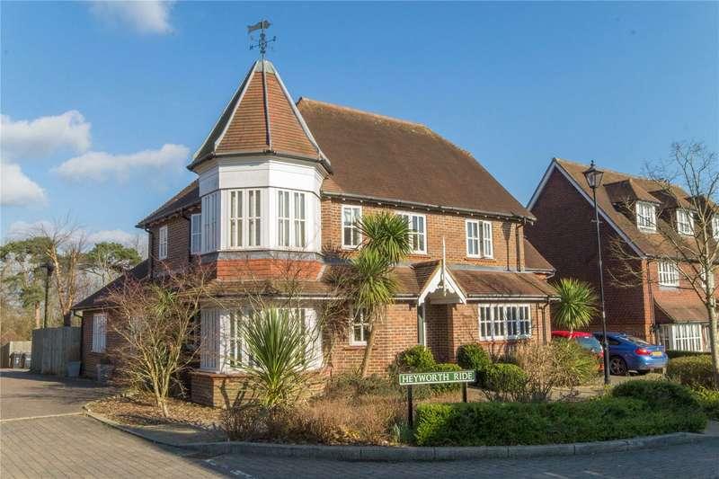 5 Bedrooms Detached House for sale in Heyworth Ride, Haywards Heath