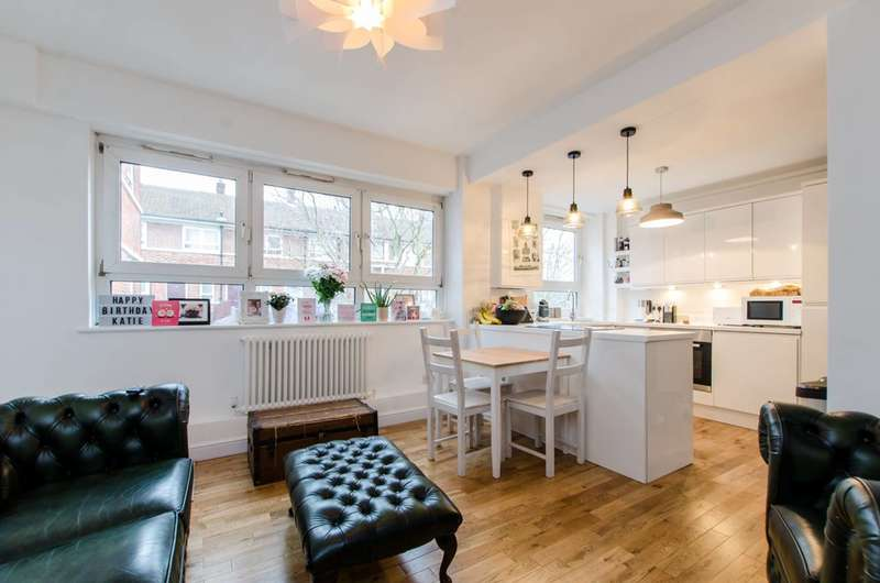 3 Bedrooms Maisonette Flat for sale in Adams Gardens Estate, Rotherhithe, SE16
