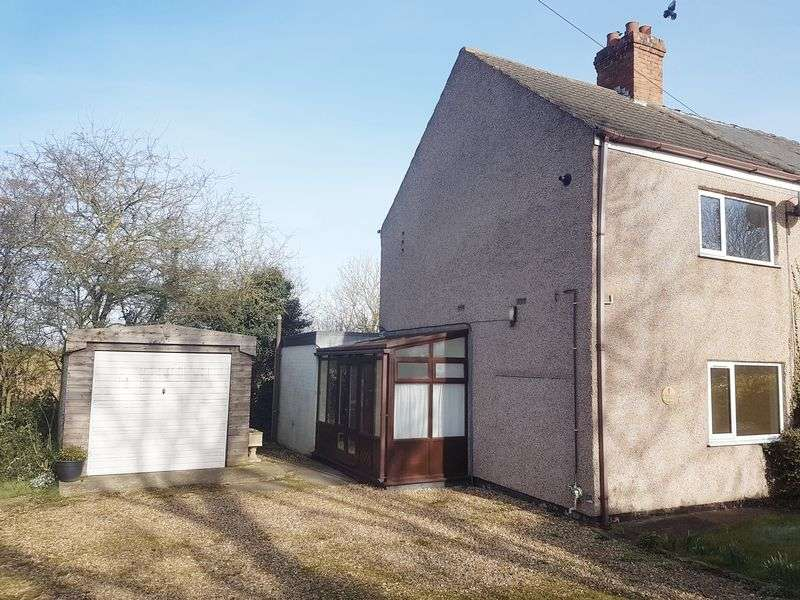 2 Bedrooms Semi Detached House for sale in Alford Road, Bilsby, Near Alford