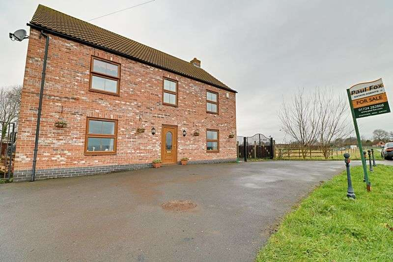 4 Bedrooms Detached House for sale in Washinghall Lane, Eastoft