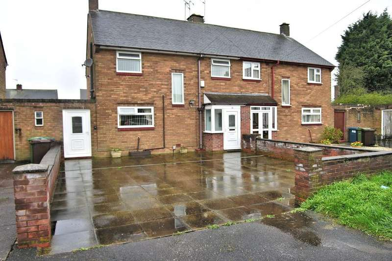 3 Bedrooms Semi Detached House for sale in HINTON CLOSE, RICKERSCOTE, STAFFORD ST17
