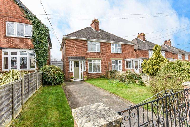 2 Bedrooms Semi Detached House for sale in Batchelors Barn Road, Andover