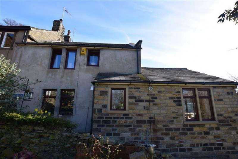 3 Bedrooms Cottage House for sale in Near Bank, Shelley, Huddersfield, HD8