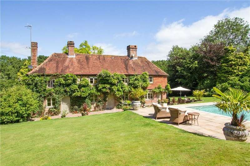 5 Bedrooms Detached House for sale in Milland, Midhurst, West Sussex, GU29